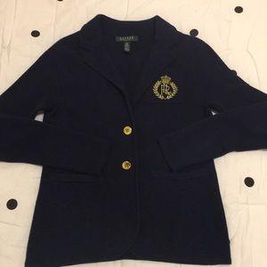 Ralph Lauren Women's Knit Cotton blazer